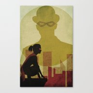 Who Is The Man In The Bo… Canvas Print
