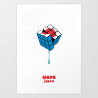 Hope for Japan Art Print