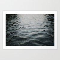 River Water Art Print