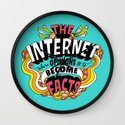 The Internet. Wall Clock