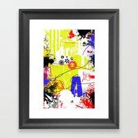 Art Is Freedom Framed Art Print