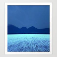 Blue by You! Art Print