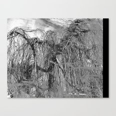 RELAX... It's Just A (Black&White) MINDfuck! Canvas Print