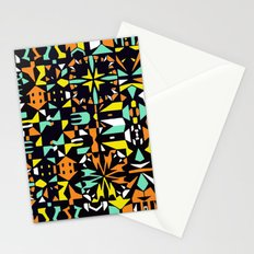 Square 3 color option 1  Stationery Cards