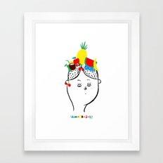 Carmen Miranda Framed Art Print