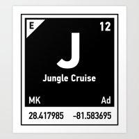 Elements Of J - Jungle C… Art Print