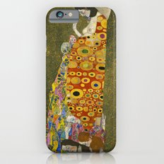 Hope II by Gustav Klimt  iPhone 6 Slim Case
