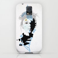 Galaxy S5 Cases featuring cobweb by SEVENTRAPS