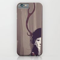 iPhone & iPod Case featuring Forest Fawn by Oxana-Milka