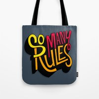 So Many Rules Tote Bag