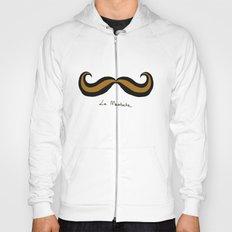 Monsieur Mustard Moustache Hoody