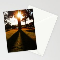Sun and shadows Stationery Cards