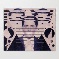 Vintage Man Canvas Print
