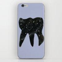 Cosmic Tooth iPhone & iPod Skin