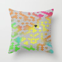 Japanese Pattern Throw Pillow
