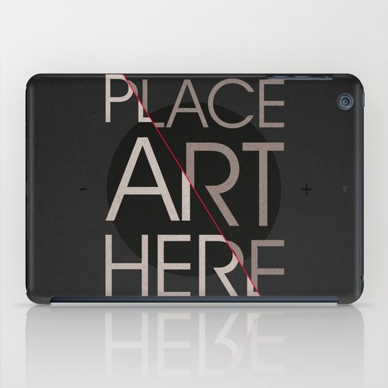 The Art Placeholder iPad Case