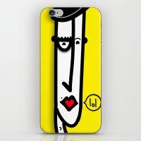 Putaguer iPhone & iPod Skin