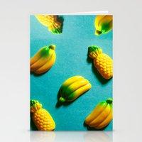 Ananas 'N Bananas Stationery Cards