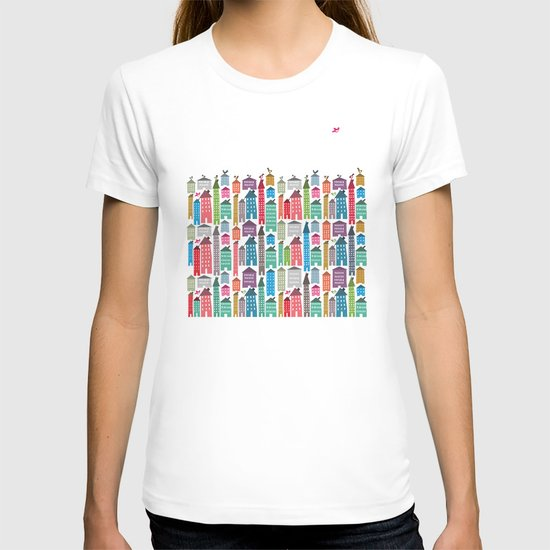Houses and Birds T-shirt