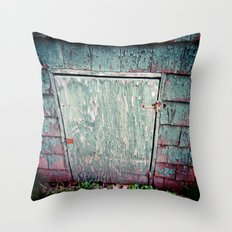The Secret Door Throw Pillow