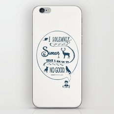I Solemnly Swear... iPhone & iPod Skin