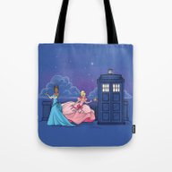 The Princess And The Doc… Tote Bag