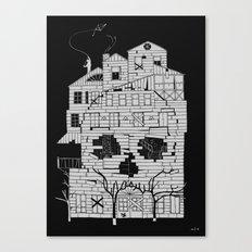Monsterhouse Canvas Print
