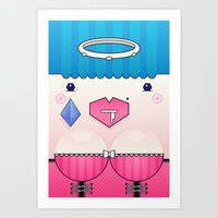 Candy The Valentine's Sp… Art Print