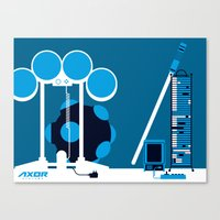 AXOR Systems - Room #2 Canvas Print