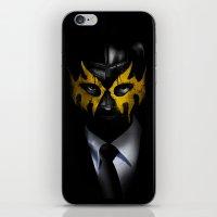 SOLAR SQUAD MAN iPhone & iPod Skin