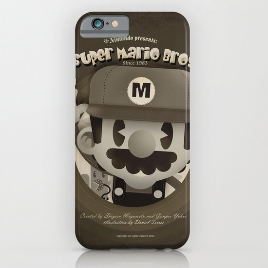 Mario Bros Fan Art iPhone & iPod Case