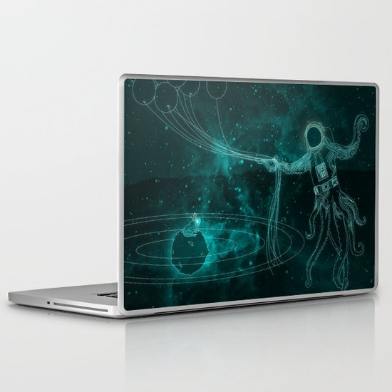 A Birthday Spacetacle! Laptop & iPad Skin