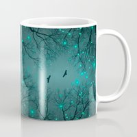 Silently, One by One, the Infinite Stars Blossomed (Geometric Stars Remix) Mug