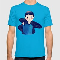 LLAP Mens Fitted Tee Teal SMALL