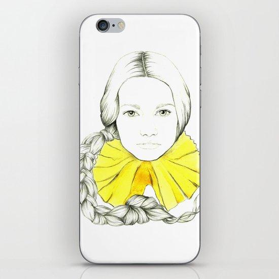 Frill Neck Lady iPhone & iPod Skin