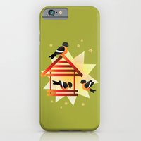 iPhone & iPod Case featuring Birds by HK Chik