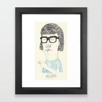 Tina Framed Art Print