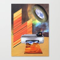 American Hypersurface. Canvas Print
