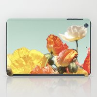 Poppies iPad Case