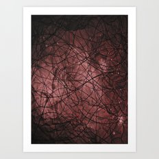 Lines in Space Art Print