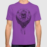 lady death Mens Fitted Tee Ultraviolet SMALL