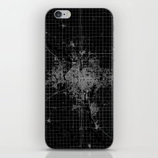 Wichita Map Kansas iPhone & iPod Skin