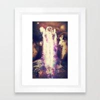 Cosmic Ascension Framed Art Print