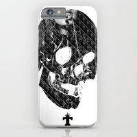 iPhone & iPod Case featuring TML SKULLIFASHION Women by TEMKA