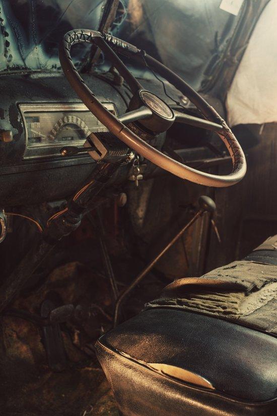 Driver's Seat Art Print