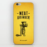Meat Grinder iPhone & iPod Skin