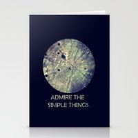 Admire The Simple Things Stationery Cards