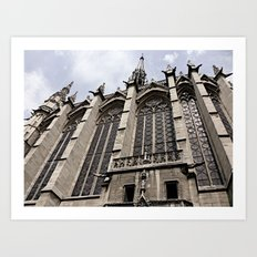 gothic style Art Print