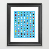 Minimalism Beloved Video… Framed Art Print