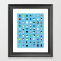 Minimalism Beloved Video… Framed Art Print